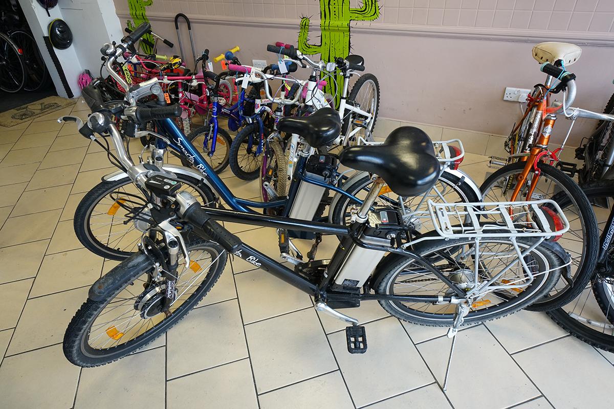Smarta Bike - Electric Gents Bike